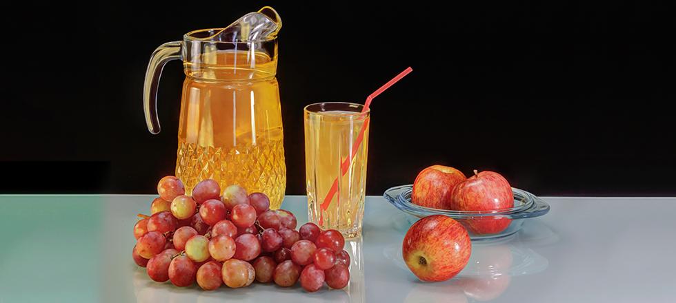 Saft aus regionalen Früchten