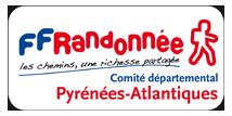 logo du comité départemental des Pyrénées-Atlantiques