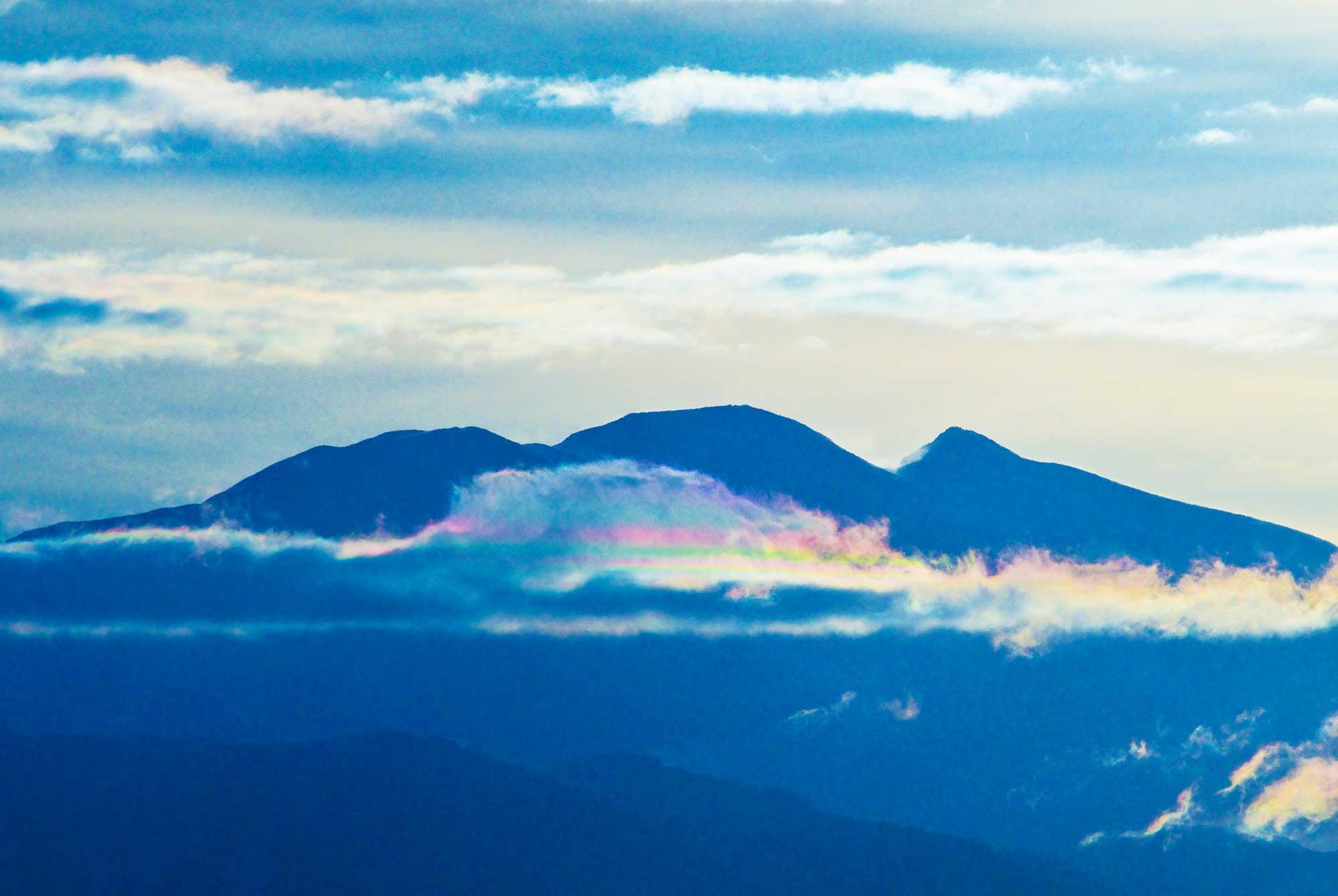 南島幻が撮影した彩雲