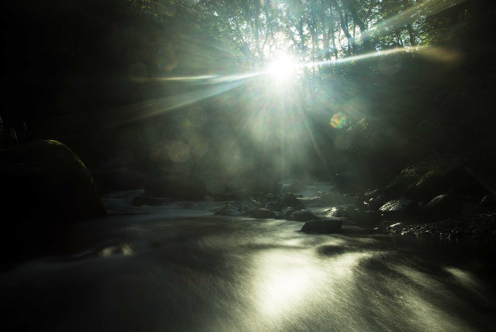 南島幻が撮影した神々の光