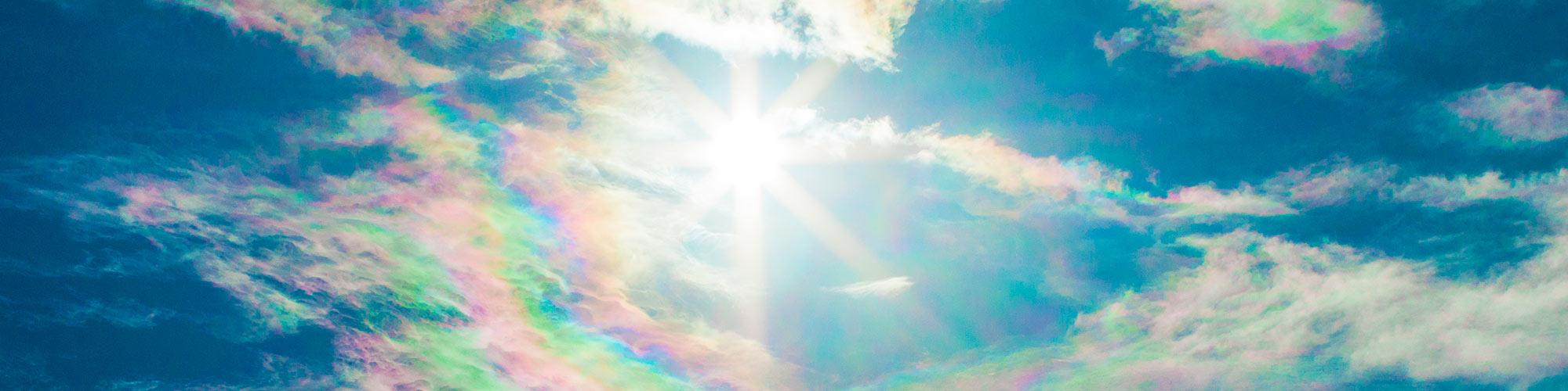 南島幻のフォトギャラリー・彩雲