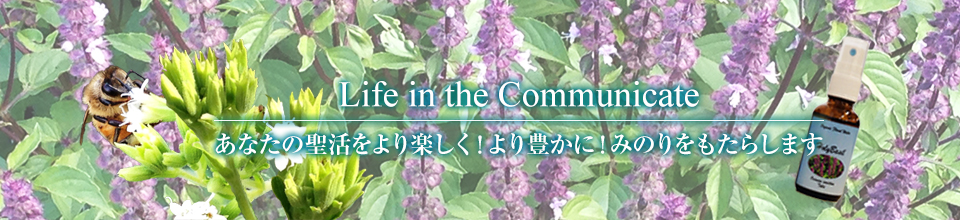 Life in the Communicate あたなの聖活をより楽しく、より豊かに、みのりをもたらします