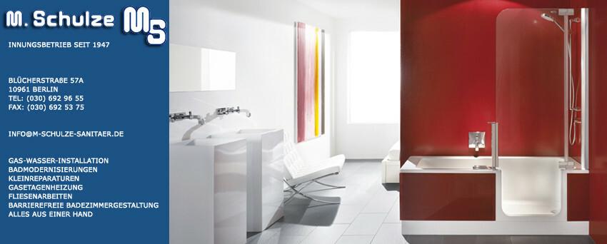 Badezimmer Installation, ihr installateur rund ums badezimmer in berlin - m-schulze-sanitaer, Design ideen