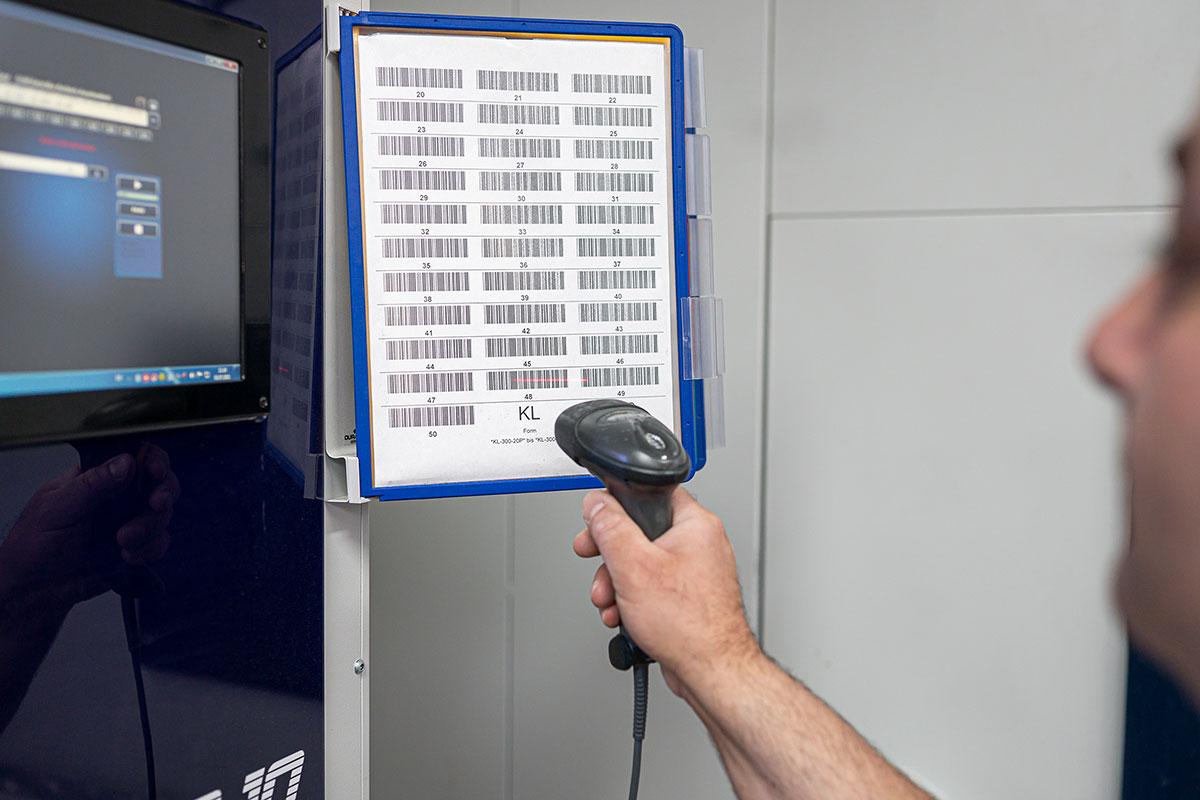 Barcode Scannen