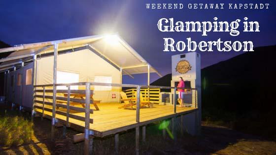 Glamping bei AfriCamps in Robertson Südafrika