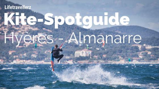 Kitesurf Spotguide Hyères Almanarre Südfrankreich