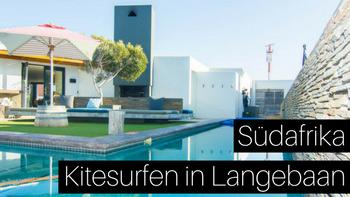 Kitesurfer Hotel Windtown in Langebaan Südafrika