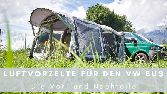 Luftvorzelt für VW Bus
