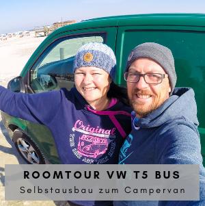 VW T5 Roomtour - Der Selbstausbau zum Campervan jetzt als Video