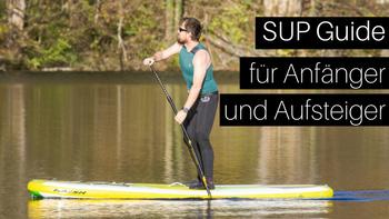 Stand up Paddle Boarder im Salzkammergut