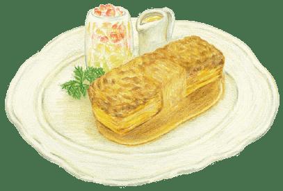 レシピヲのフレンチトースト