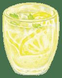 自家製レモンスカッシュ