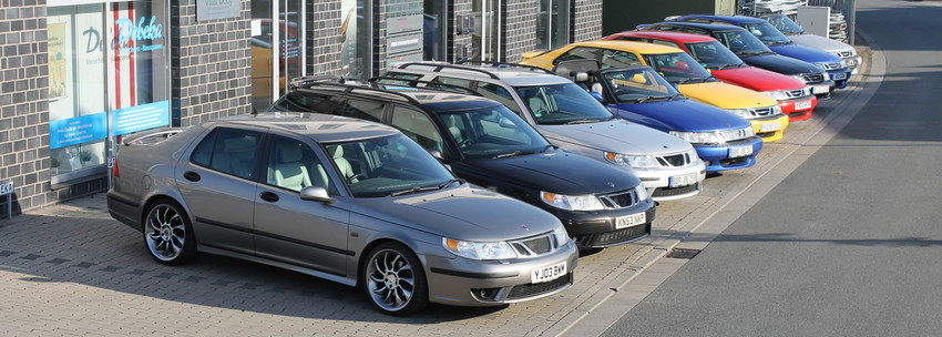 Saab Modellautos von Prideindetails in unterschiedlichen Modellen