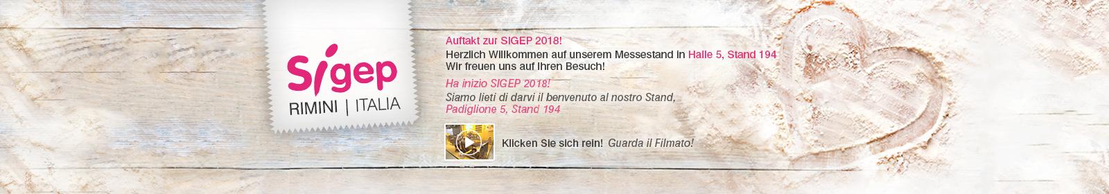 Dübör auf der Messe SIGEP in Rimini