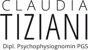 Logo Claudia Tiziani, Diplomierte Psychophysiognomin