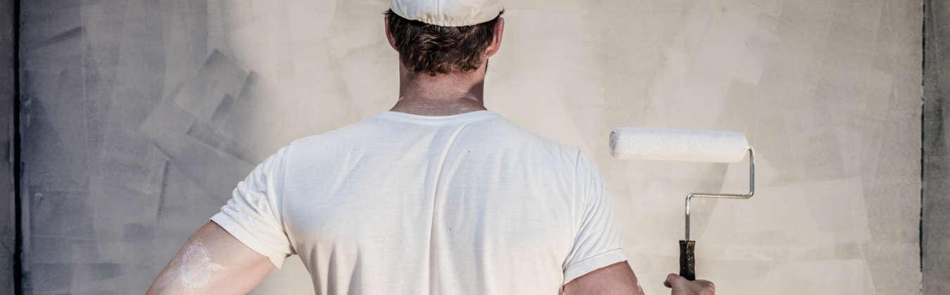 Malerarbeiter von der CMS Fassadengestaltung GmbH