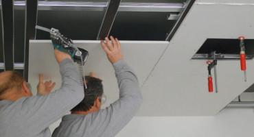 CMS Fassadengestaltung GmbH Trockenbauarbeiten, Wand abhängen