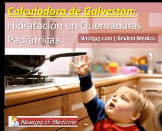 Calculadora de Galveston Quemaduras Pediatria