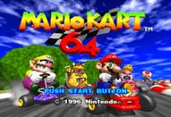 MarioKart 64, juego
