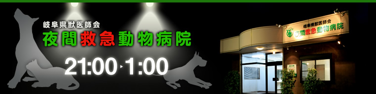 岐阜県獣医師会 夜間救急動物病院