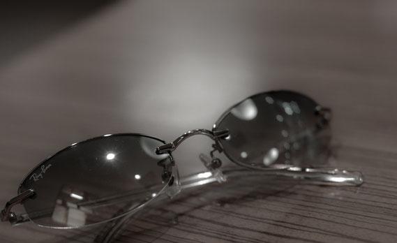 愛用しているRay-Banのサングラス