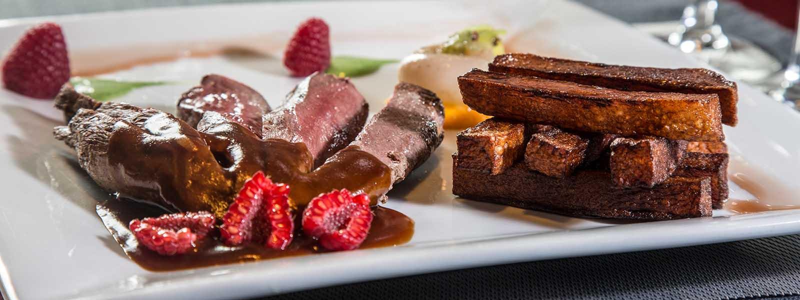 La carte des viandes restaurant le belem quimiac