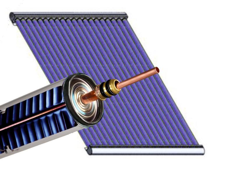 Weiser Power Röhre und Kollektor