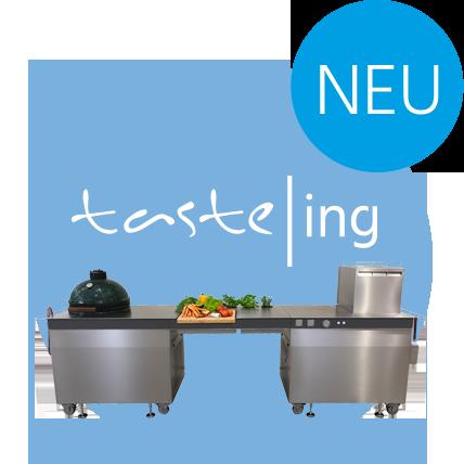 Edelstahl Outdoor-Küche