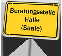 Ortsschild Halle (Saale)