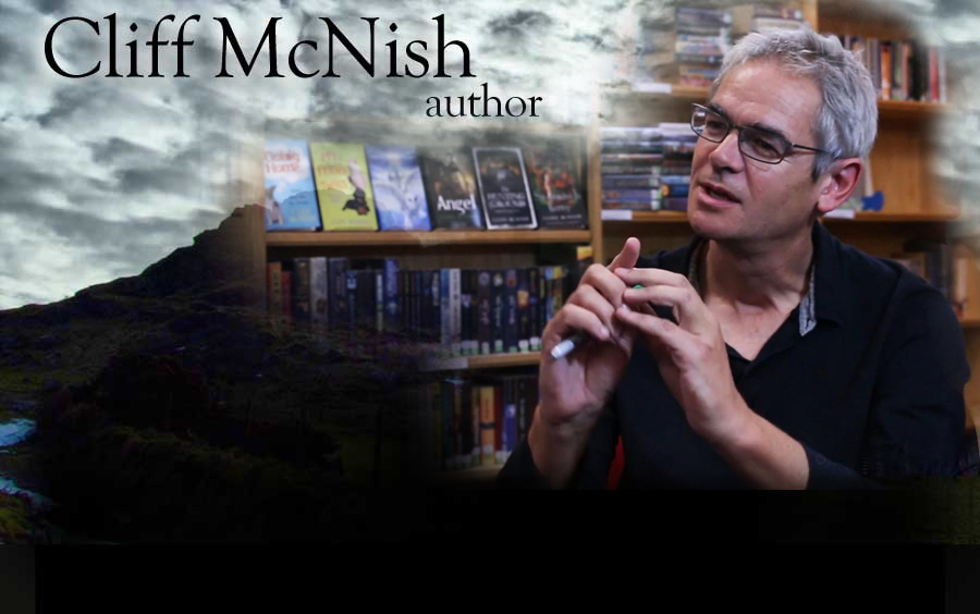 Cliff McNish - author of young adult fiction