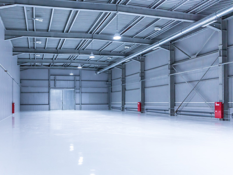 Bodenbeschichtungen für Industriehallen