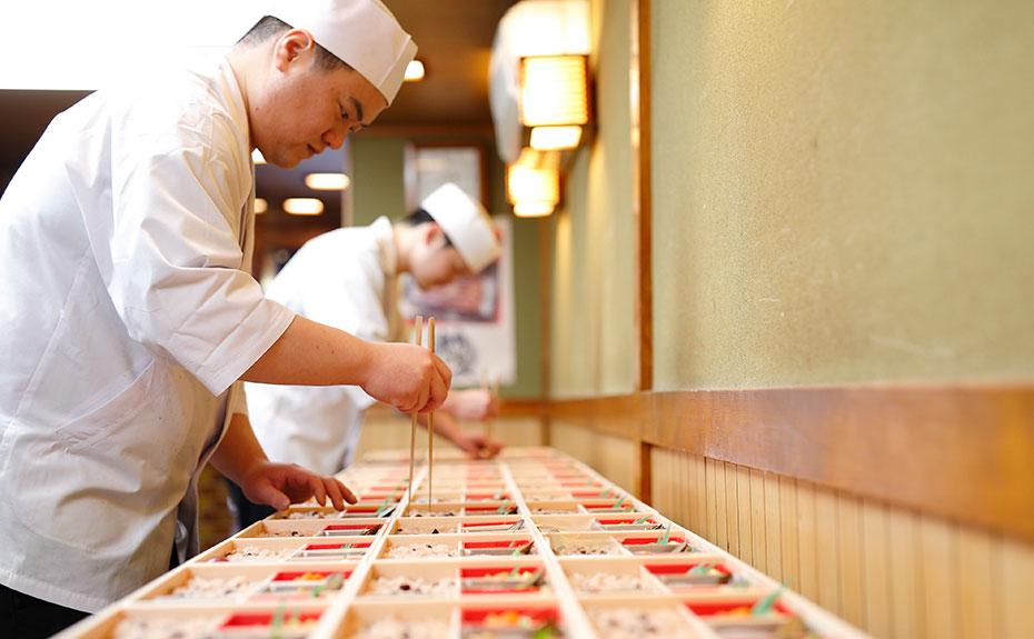 奈良のご宴会は仕出し料理の久屋