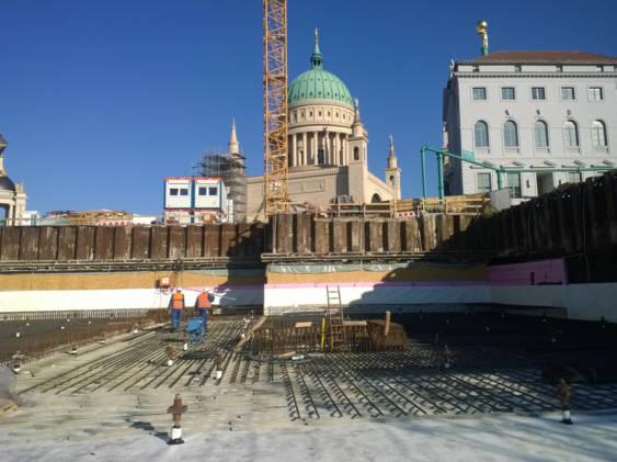 Erneuerung der Trinkwasserleitungen in Potsdam