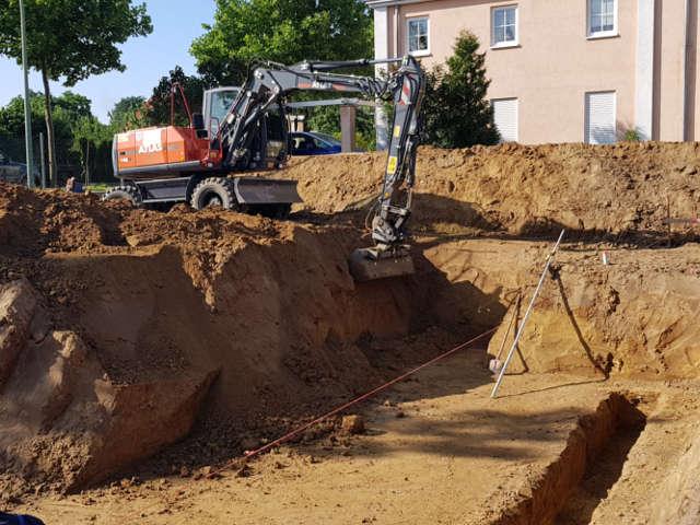Erd- & Tiefbauarbeiten in Potsdam