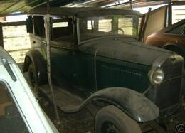 Rear Axle and Drive Train - Ford Model A - 1930 Briggs TownSedan