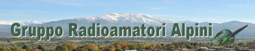 Calendario Prossime Adunate Alpini.Home G R A Gruppo Radioamatori Alpini