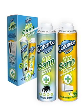 Aire Sano: Tratamiento integral para eliminar ácaros, hongos, bacterias y malos olores de Caramba