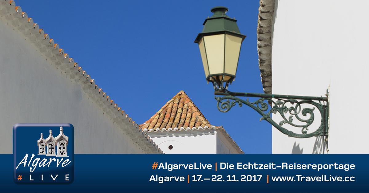 #AlgarveLive - Echtzeit-Reisereportage von der Algarve