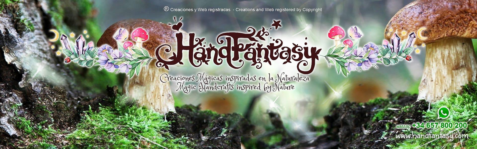 Creaciones Mágicas inspirada en la Naturaleza, artesanía de hadas, Magic handcrafts inspired by Nature
