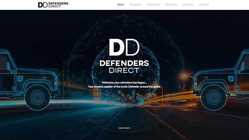 Defenders Direct - website design