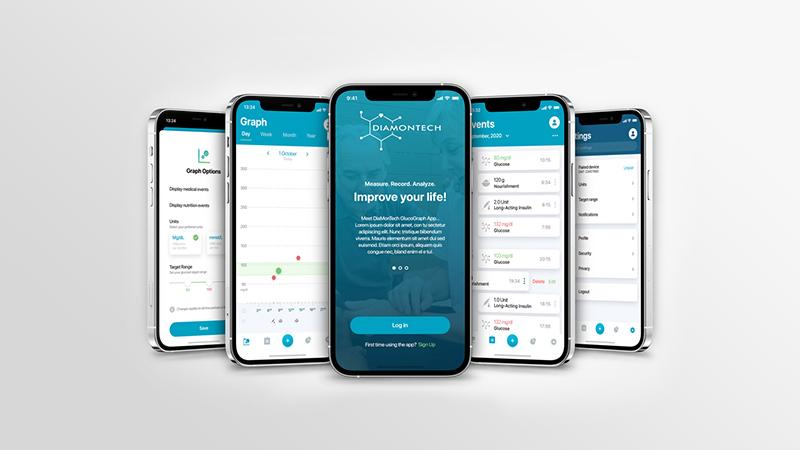 DiaMonTech -iOS app preview image
