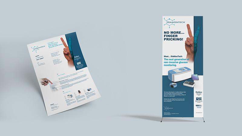 DiaMonTech Promotional Material Design