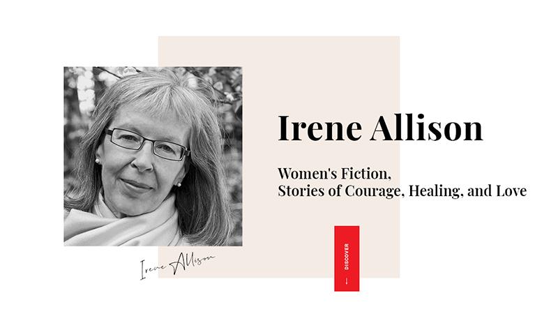 Irene Allison Author - website preview image