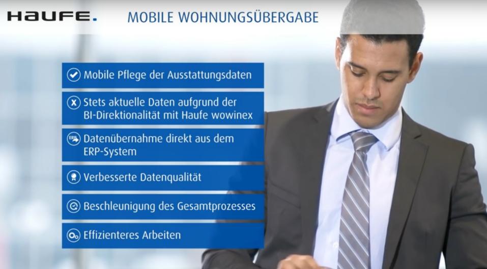 Haufe Mobile Wohnungsübergabe