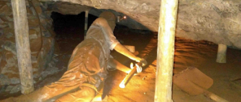Höhlen und Bergbau