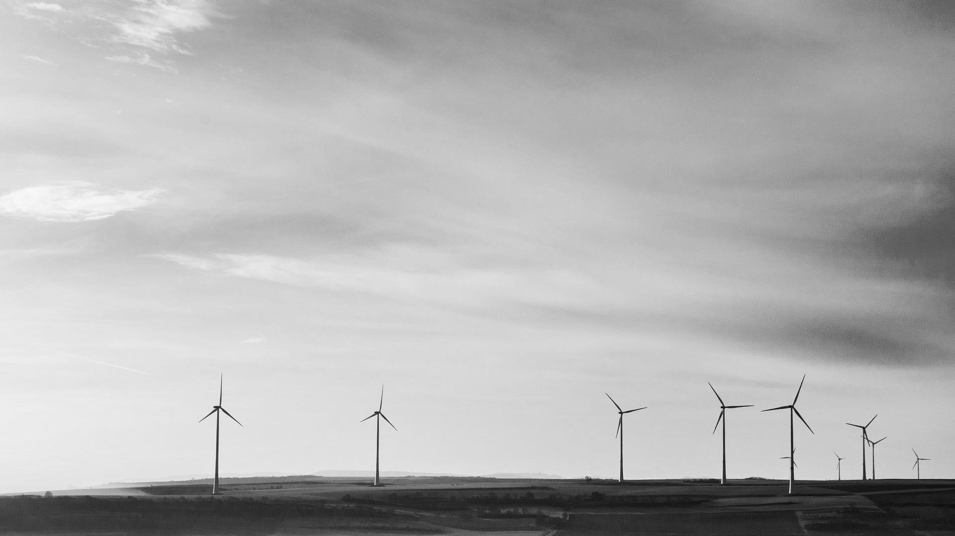 Windräder als Symptom vom Klimaschutz