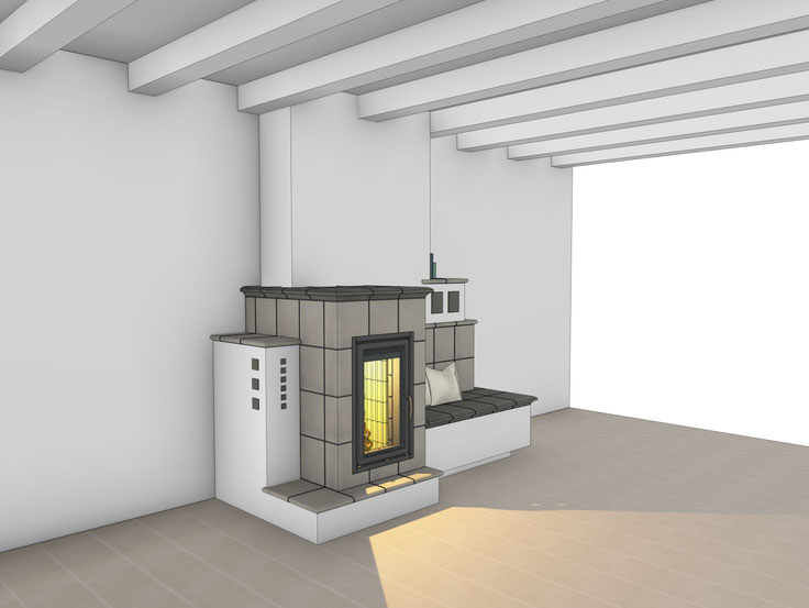 Ofenbau 3-D Planung Kanton Bern