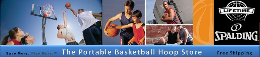 61259 Eco Compostite Huffy Basketball Hoop Lifetime Spalding Hoops