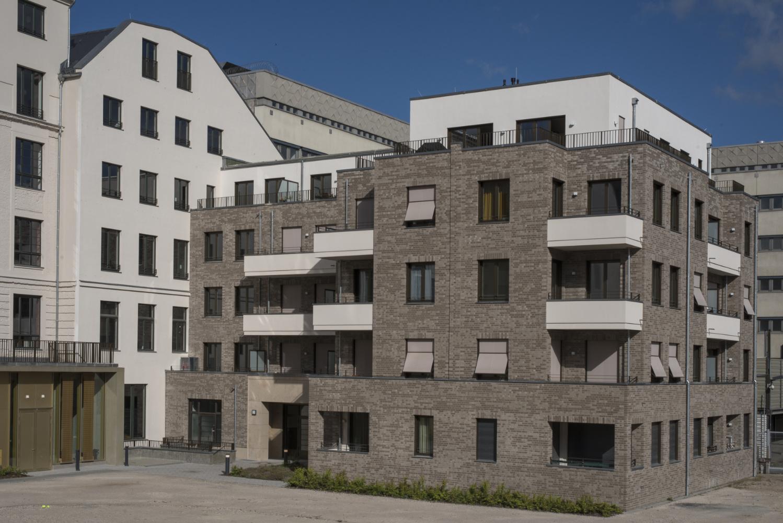 Neubau mit Holz-Aluminium-Fenstern