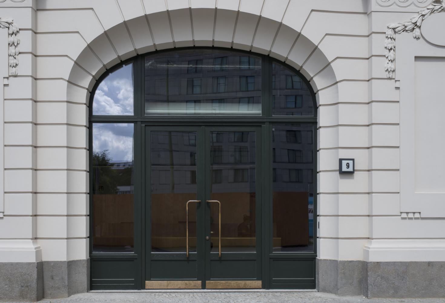 Eingangsanlage nach historischem Vorbild